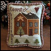 Little House Needleworks - 2012 Ornament #9 - Country Christmas
