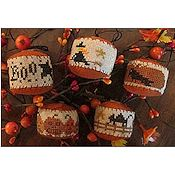 Homespun Elegance - Country Spirits Collection - Rounds A Plenty II - Halloween THUMBNAIL