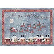 Praiseworthy Stitches - Santa's Midnight Flight
