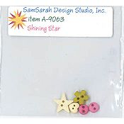 SamSarah Design Studio - Shining Star Embellishment Pack THUMBNAIL