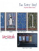 SamSarah Design Studio - Fun Every Day!  Perpetual Calendar - January