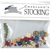 Shepherd's Bush - Charland's Stocking Embellishment Pack THUMBNAIL