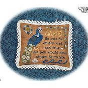 Cherished Stitches - Feathered Friends - September