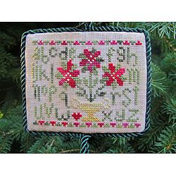 From The Heart - Poinsettia Sampler Ornament_MAIN