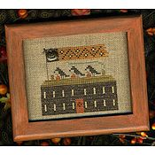 Homespun Elegance - A Halloween Year II - October - Crow House