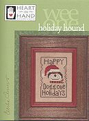 Heart In Hand Needleart - Wee One - Holiday Hound THUMBNAIL