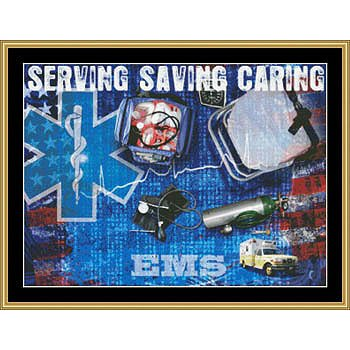 Mystic Stitch - Serving Saving Caring (EMS) THUMBNAIL