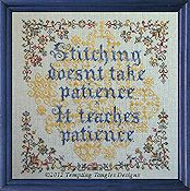 Tempting Tangles Designs - Patient Stitcher
