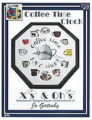 X's & Oh's - Coffee Time Clock THUMBNAIL