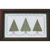 Annalee Waite Designs - Three Christmas Trees