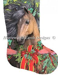 Heaven and Earth Designs - Stocking Merry Morgan MAIN