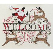MarNic Designs - Jolly Santa Welcome