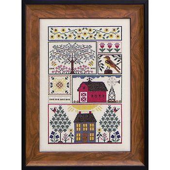 Rooster Serenade Cross Stitch Chart//Pattern 2 Designs