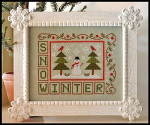Country Cottage Needleworks - Winter Snow MAIN