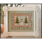 Country Cottage Needleworks - Winter Snow THUMBNAIL