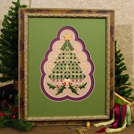 Custom Mats - Tree & Holly, Set of 2 THUMBNAIL