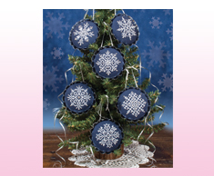 Snowflake Tart Tin Ornaments