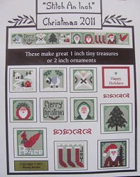 By The Bay Needleart - Stitch An Inch - Christmas 2011 THUMBNAIL