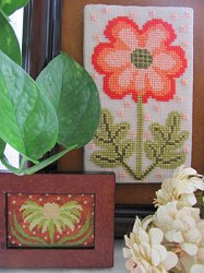 By The Bay Needleart - Funky Flower Sisters - Laura & Jennifer
