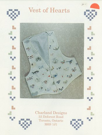 Charland Designs - Vest of Hearts