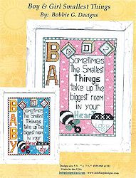 Bobbie G Designs - Boy & Girl Smallest Things MAIN