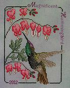 Crossed Wing Collection - Magnificent  Hummingbird