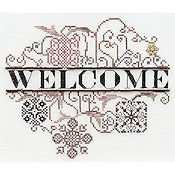 MarNic Designs - Ornament #11 Welcome Bronze Brilliance
