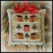 Little House Needleworks - 2012 Ornament #12 -  Saltbox Village