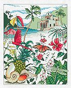 Vickery Collection - Caribbean Dream