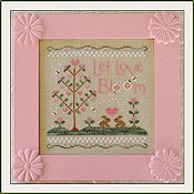 Country Cottage Needleworks - Let Love Bloom THUMBNAIL