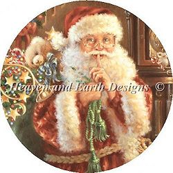 Heaven and Earth Designs - Ornament Not A Creature Was Stirring MAIN