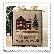 Little House Needleworks - Hometown Holiday Series - #1 My House