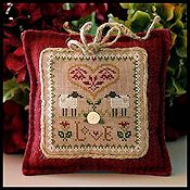Little House Needleworks - Little Sheep Virtue #2 Love THUMBNAIL