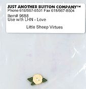 Jabco Button Pack - Little House Needleworks - Little Sheep Virtues - Love