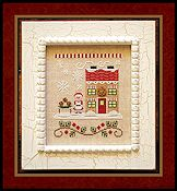 Country Cottage Needleworks - Santa's Village - Mrs. Claus' Cookie Shop