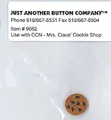 Jabco Button Pack - Country Cottage Needleworks - Santa's Village - Mrs. Claus' Cookie Shop