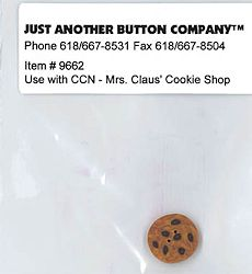 Jabco Button Pack - Country Cottage Needleworks - Santa's Village - Mrs. Claus' Cookie Shop MAIN