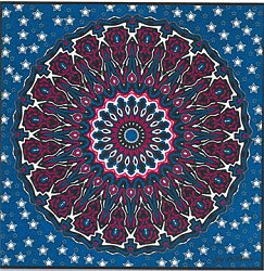 Cody Country Cross Stitch - Patriotic Mandala MAIN