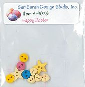 SamSarah Design Studio - Happy Easter Bunny Embellishment Pack