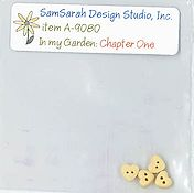 SamSarah Design Studio - In My Garden - Chapter One Embellishment Pack