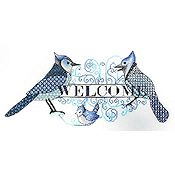 MarNic Designs - Blue Jay Welcome THUMBNAIL