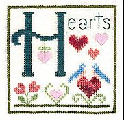 Elizabeth's Designs - H is for Hearts
