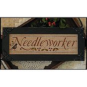 "Little House Needleworks - ""Needleworker"" Chart Pack THUMBNAIL"