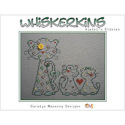 Carolyn  Manning Designs - Whiskerkins - Violet's Kitties MAIN