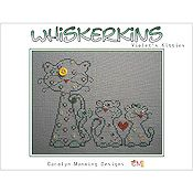 Carolyn  Manning Designs - Whiskerkins - Violet's Kitties THUMBNAIL
