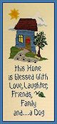 The Stitchworks - Home Blessings - Dog