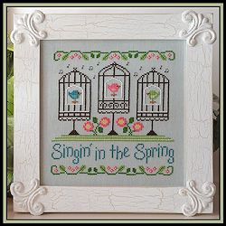 Country Cottage Needleworks - Singin' in the Spring MAIN