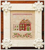 Country Cottage Needleworks - Santa's Village - Santa's Stocking Store THUMBNAIL