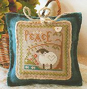 Little House Needleworks - Little Sheep Virtue #3 Peace THUMBNAIL
