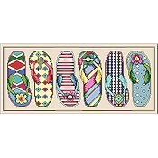 Vickery Collection - Flip Flop Fun THUMBNAIL